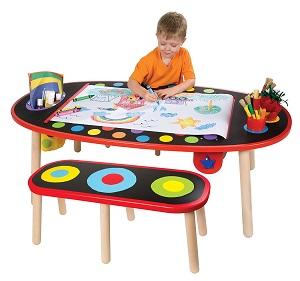 alex table w/paper roll