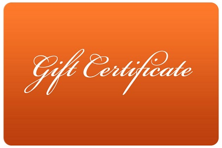 - Purchase a gift certificate for someone you love!