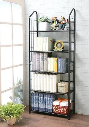 unbrand metal bookshelf