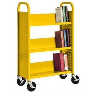 sandusky sloped shelf in colors