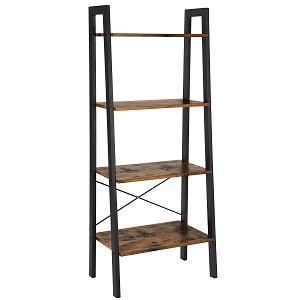 songmics ladder shelf