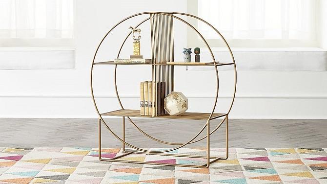 wheelhouse round bookcase