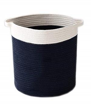 cotton rope woven hamper