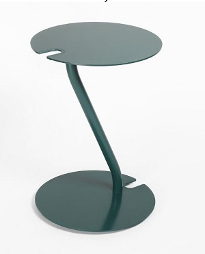 lily aluminum side table