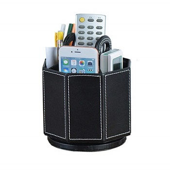 leather rotatable holder