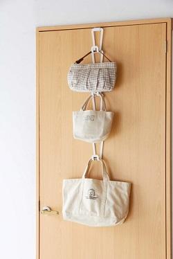 bag hanger in colors