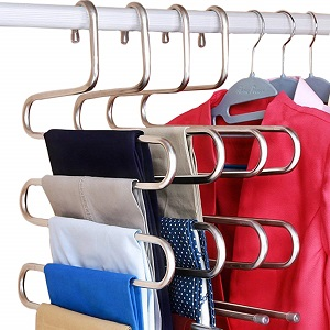 stainless pants hanger