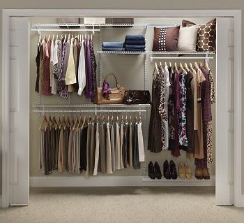 closetmaid shelf track