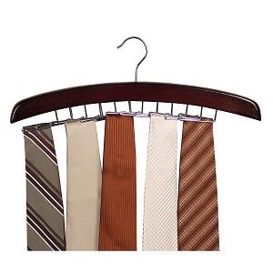 walnut tie holder