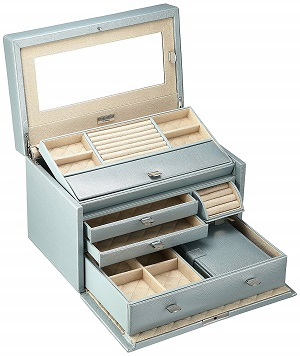 wolf medium jewelry box