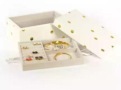 kate spade gold dot box