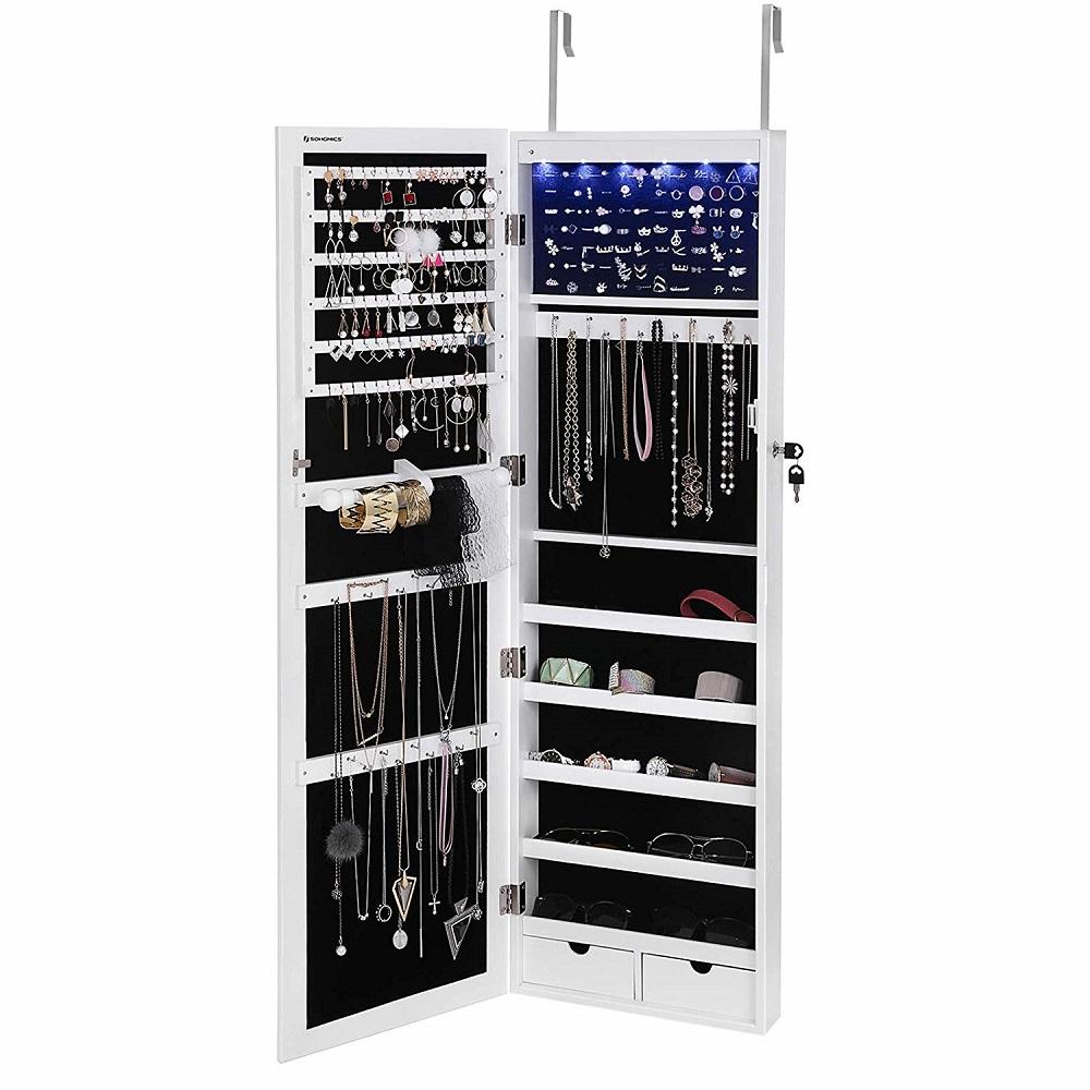 wall-door mounted armoire