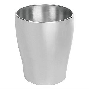 m-Design metal trash can
