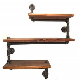 industrial pipe shelving