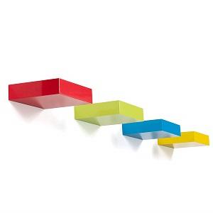 bright maison shelf in colors
