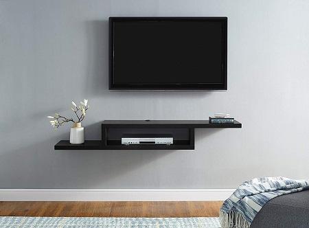 wall-mounted console shelf