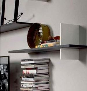 cross wall shelf