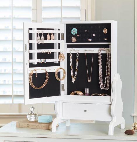 tabletop jewelry box