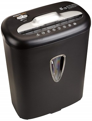 amazon basics shredder