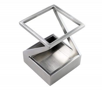 stainless pen/pencil holder