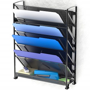 wall mount document tray