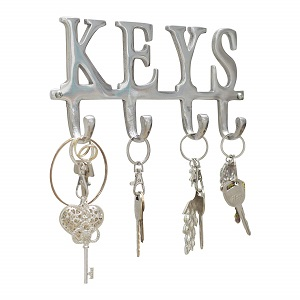 cast aluminum key rack