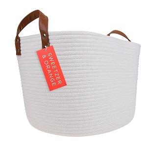 sweetzer & Orange rope basket
