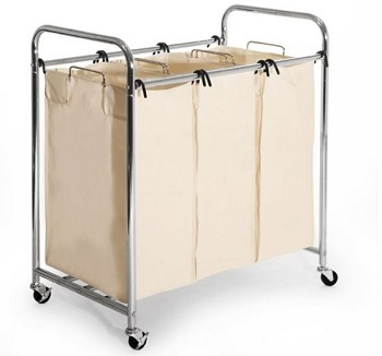 seville classic hamper cart