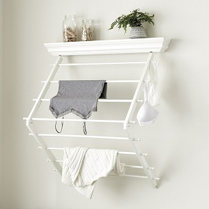 flat fold drying rack