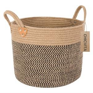 chicvita large jute basket