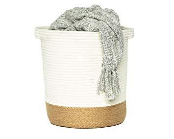 jute rope woven basket