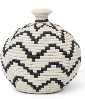 all across africa woven vase