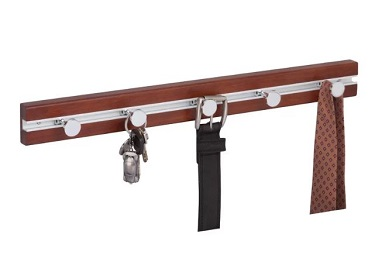 wall mounted rack in finishes