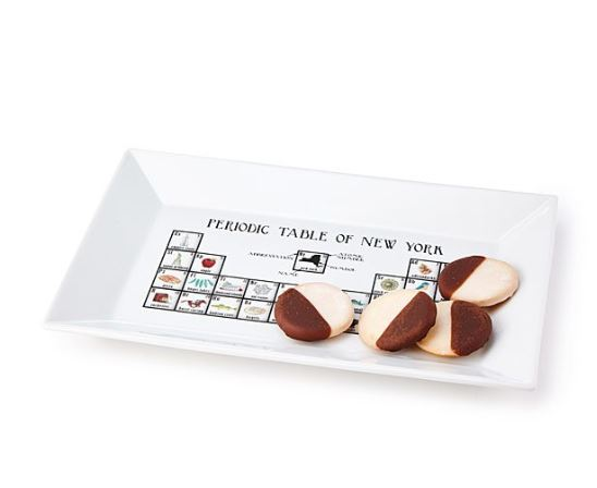 periodic table of states platter