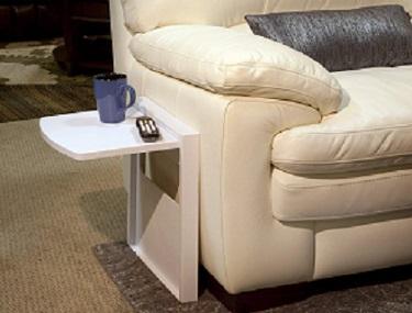 tuc-away table white/grey