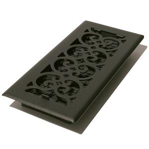 textured black register