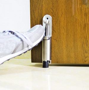 stainless telescopic door stopper