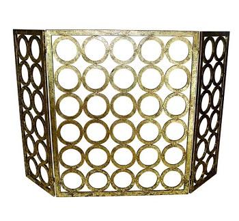 italian gold circle screen