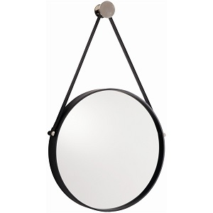 arteriors expedition hanging iron mirror