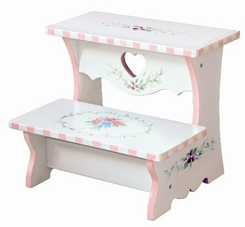 hand painted step stool
