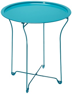 dar tray table in colors