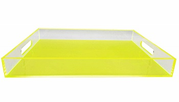 woosal lucite tray in colors
