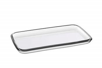 Barski European Glass tray