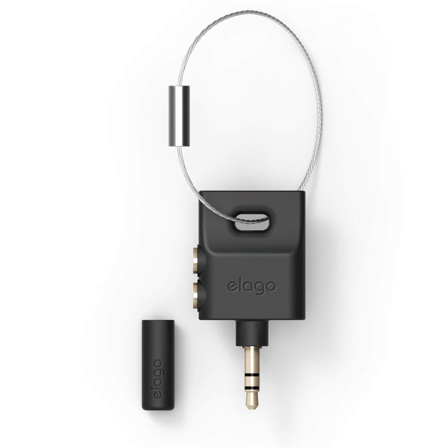 keyring headphone splitter