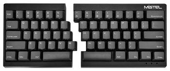 Mistel Barocco Ergonomic Split PBT Mechanical Keyboard