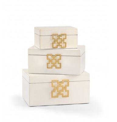 hampton leather boxes