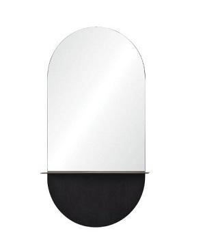 Renwil Lisdarra Glass/Brass Mirror