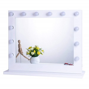 chende lighted vanity mirror