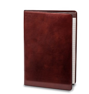 bosca leather portfolio in colors