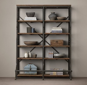 RH French Library Shelving